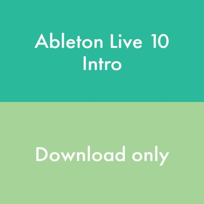 Ableton Live 10 Intro - Lizenz Code