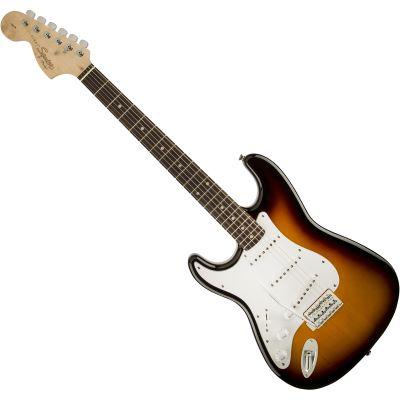 Squier By Fender Affinity Stratocaster Hss Electric Guitar Burgundy Mist Metallic