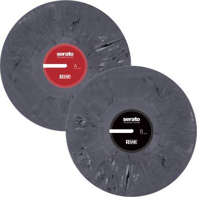 Serato X Rane 2x12 Zoll Control Vinyl Marble Grey (Limited Edition)