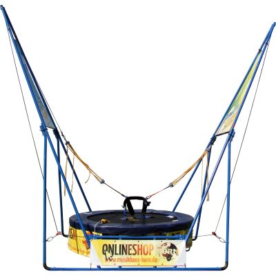 Vermietung - Bungee Trampolin V-Fly Pro - Stk./Tag  incl. Personal