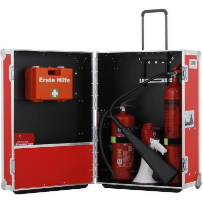 Vermietung - Emergency Notfall Case Trolley - Stk./Tag