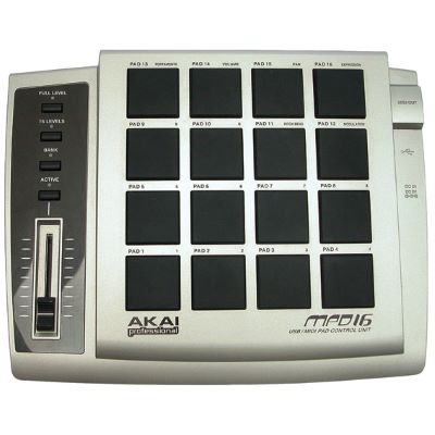 DOWNLOAD DRIVERS: AKAI MPD 16