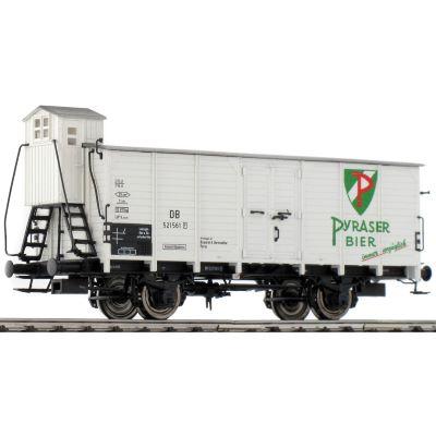 BRAWA 49043 H0 Güterwagen G10 Pyraser Bier DB EP III DC