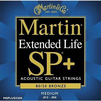 Martin 80//20 Bronze Medium .013-.056 Acoustic Guitar Strings
