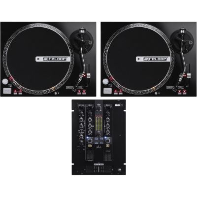 Reloop RP-4000 M + RMX 22i Turntable DJ Set  sc 1 st  Musikhaus Korn & Reloop RP-4000 M + RMX 22i Turntable DJ Set | music store