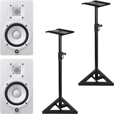 yamaha hs5w stativ set. Black Bedroom Furniture Sets. Home Design Ideas