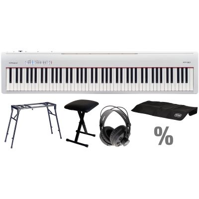 Roland Fp 30 Wh E Piano T Set Kb Kt Kh Music Store