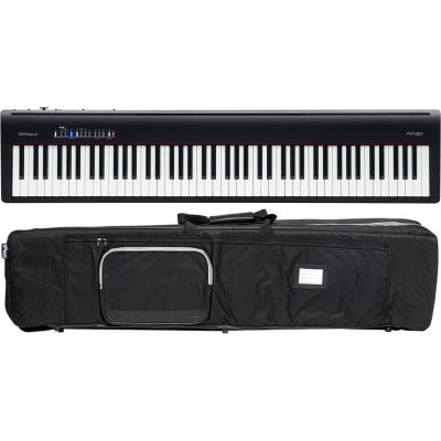 Roland Fp 30 Bk E Piano Bag Set Music Store