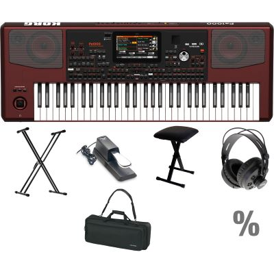 Korg pa 1000 features