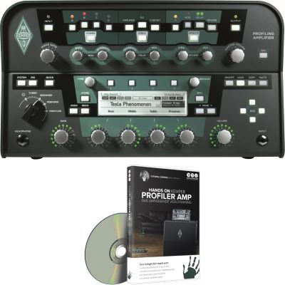 Kemper Profiling Amplifier PowerHead + DVD Videotraining