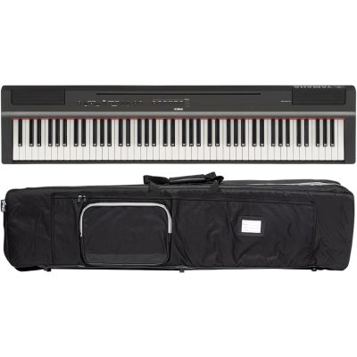 Yamaha P 125 BK Stage Piano + Bag Set