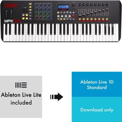 Akai MPK 261 + Ableton Live 10