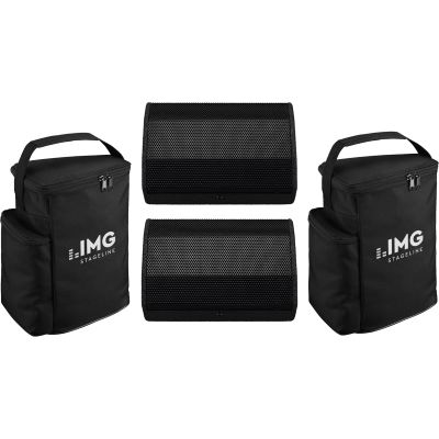 IMG Stage Line FLAT-M100 2er Set + Bags