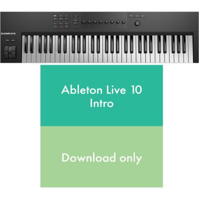 Native Instruments KOMPLETE KONTROL A61 + Ableton Live 10 Intro
