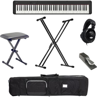 Casio CDP-S100 BK Digital E-Piano Klavier X Set + KB + KS + SP + KT + KH + NT