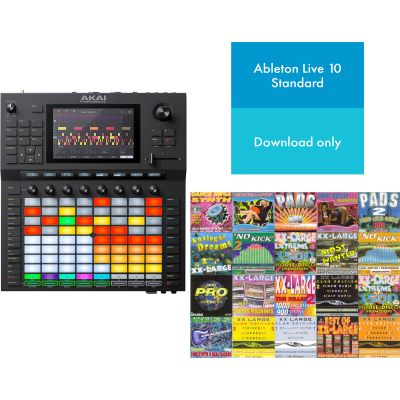 Akai Force + Ableton Live + Sample Mega Set