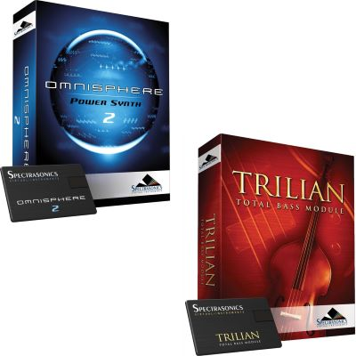 Spectrasonics Omnisphere 2 + Trilian Bundle