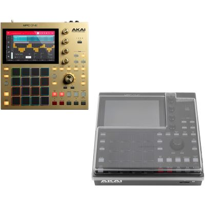 Akai Professional MPC ONE Gold Ltd. + Staubschutzcover